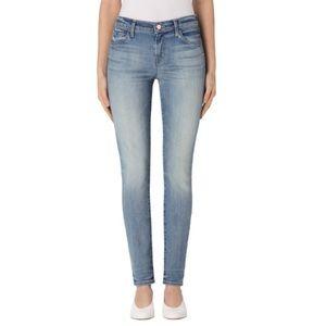 J Brand Mid Rise Skinny Leg Jeans
